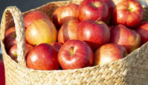 【りんご】ふじの旬の時期(食べ頃)や味の特徴を解説