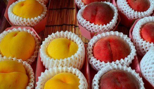 白桃と黄桃の違いを徹底比較!